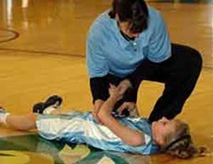 sportsérülés, gyerek, edző