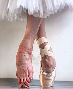balettos lába
