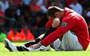 Rooney Lábközépcsont törése